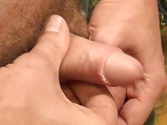Stud wants to share his smelly and unwashed bottoms