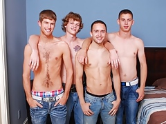 Broke Straight Boys: Blake Bennet, Brandon, Max plus Sam