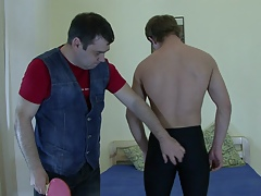 Attracting gay sufficient spanking!
