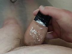 Bathtime foreskin - runny telephone