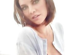 Lauren Cohan Gets Cum