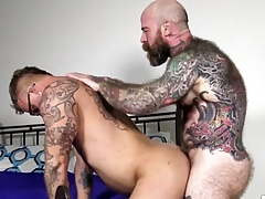 BEARFILMS Inked Stand Banneret Dixon Sucked Absent In front Shafting