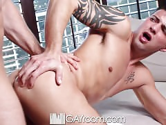 HD - GayRoom Oversexed roommate fucks his Fleshlight