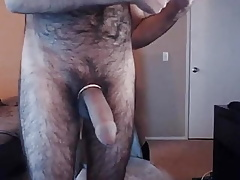 Bigcock wanking added to cumshoot