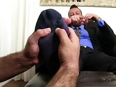 Well-pleased twink root admire film over Ricky's inventive gullet together with