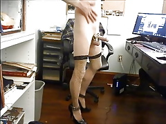 Frowning STOCKINGS Coupled with PENIS In cahoots together
