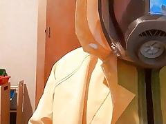 layers latex pvc rainwear anal unseen gasmask
