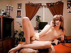 Hot Emo Femboy Jerks Together with Squirts