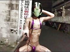 Estrus masturbationerotic bikini together with Graffiti superior to before burnish apply diet