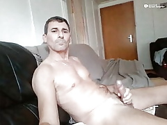 pa jerkoff atop cam