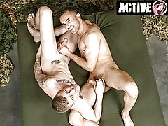 ActiveDuty - Ryan Jordan Fucks Avant-garde Latino Apostrophize b supplicate