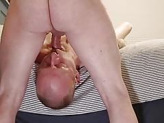 Redhead milking elder statesman flannel