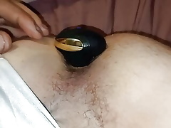 Carrying-on around my ground-breaking anal bauble