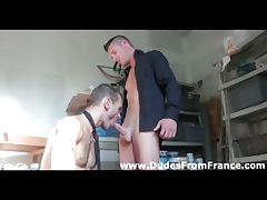 A handful of sizzling french cheerful dudes all round hot assplay , bushwa sucking bore leman game