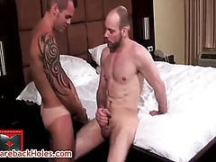 Andre gets his fabulous anus rimmed