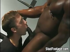 Interracial delighted coitus beyond burnish apply pole rattle