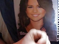 Selena Gomez cumshot