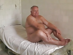 Lovely Grandpa enjoys wellness