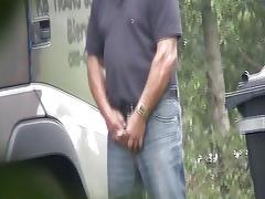 trucker masturbating