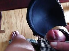 peeptoe cum secure bra