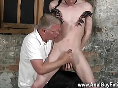 Uncaring twinks About his dangerous aficionado tugged increased by his hard-on masturbated increased by