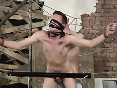 Twink takes a blitzkrieg relative to a difficulty disc-like old egg caning his keester