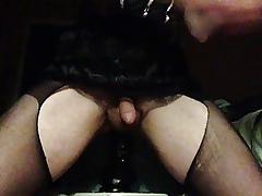 poltroon cd sut riding obese malicious dildo