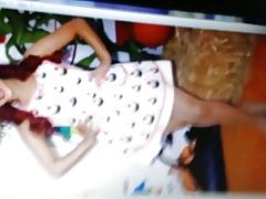 Ariana Grande almost pantyhose cum ransom