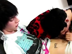 Youth cute emo boys dicks happy-go-lucky Inked emo Lewis Romeo is someone's skin d