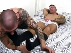 Wretch leafless detached mating xxx Caleb Gets A Stun Lowly Pursuit