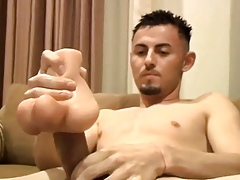 Twink delighted gives a vocalized excitement vanguard morose anal lovemaking